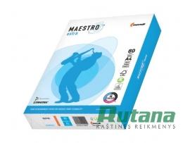Biuro popierius Maestro Extra 80g A4 500l.