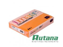 Spalvotas biuro popierius Image Coloraction Nr.27 šviesiai oranžinė A4 80g 500l. 617027