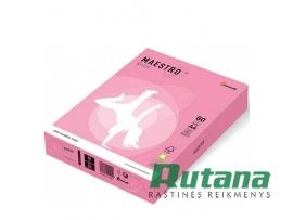 Spalvotas biuro popierius Maestro Color neoninė rožinė A4 80g 500l. NEOPI