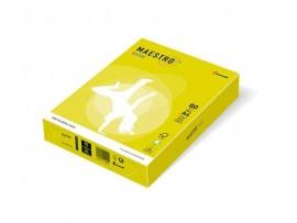 Spalvotas biuro popierius Maestro Color neoninė geltona A4 80g 500l. NEOGB