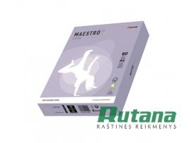 Spalvotas biuro popierius Maestro Color levandų sp. A4 80g 500l. LA12