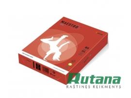 Spalvotas biuro popierius Maestro Color koralinė raudona A4 80g 500l. CO44