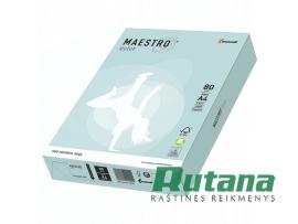Spalvotas biuro popierius Maestro Color šviesiai mėlynas A4 80g 500l. BL29