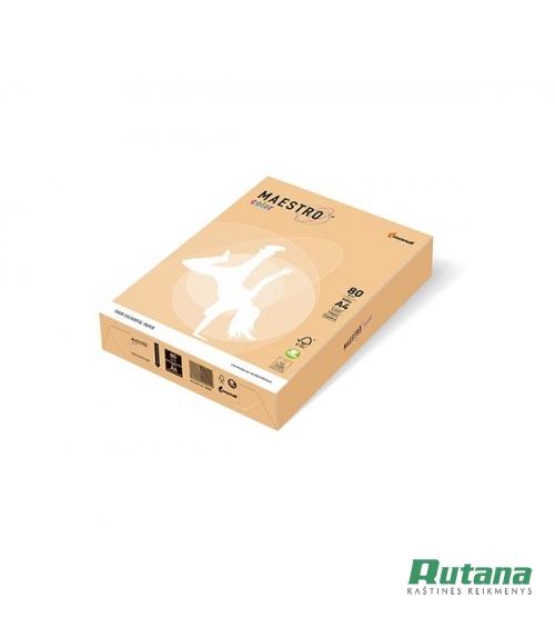 Spalvotas biuro popierius Maestro Color aukso sp. A4 80g 500l. GO22