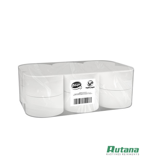 Tualetinis popierius rulonais Ooops! Mini Jumbo 1vnt. Vajda papir KTC20121763