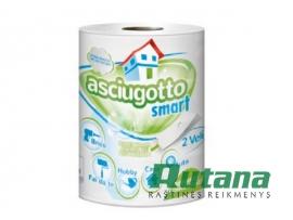 Popierinis rankšluostis Asciugotto Smart baltas Paperdi AD8G280