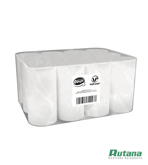 Ruloninis popierius Ooops! Professional S baltas Vajda papir KKC10011687