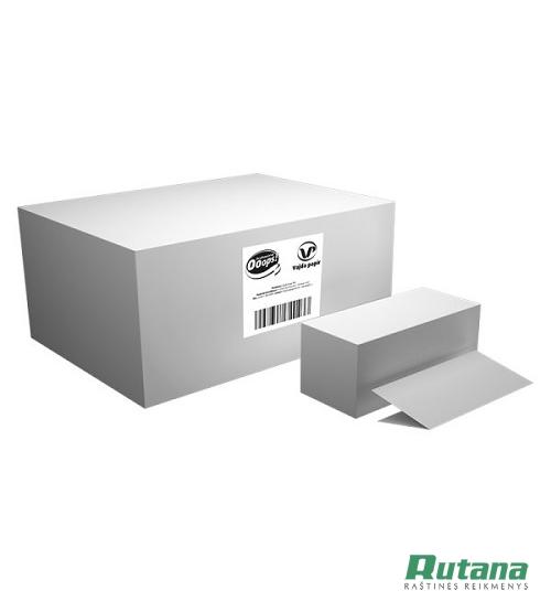 Popieriniai rankšluosčiai lapeliais Ooops! H2 V-Fold balti Vajda papir KKC21501493