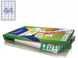 Lipnios etiketės A4/48.5 x 25.4 mm 100 lapų Forpus 41503