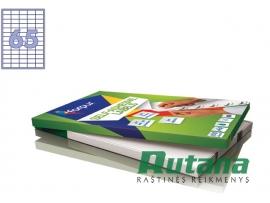 Lipnios etiketės A4/38 x 21.2 mm 100 lapų Forpus 41501