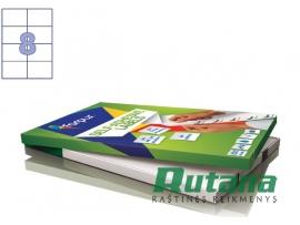 Lipnios etiketės A4/105 x 74 mm 100 lapų Forpus 41533