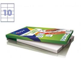 Lipnios etiketės A4/105 x 57 mm 100 lapų Forpus 41531