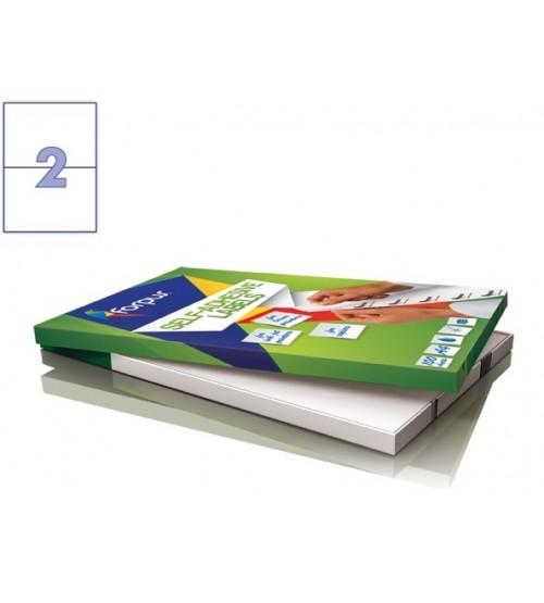 Lipnios etiketės A4/210 x 148 mm 100 lapų Forpus 41535