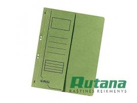 Kartoninis segtuvėlis A4 su puse viršelio žalias Herlitz 10837318