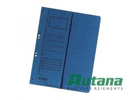 Kartoninis segtuvėlis A4 su puse viršelio mėlynas Herlitz 10836997