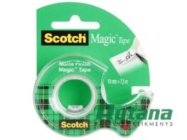 Lipni juostelė Magic 19 mm x 7.5 m su laikikliu Scotch 8-1975D
