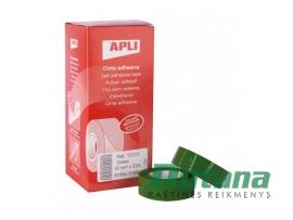 Lipni juostelė 19 mm x 33 m žalia Apli 12275