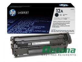 Kasetė lazeriniam spausdintuvui Q2612A juoda Hewlett-Packard