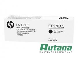 Kasetė lazeriniam spausdintuvui CE278AC juoda Hewlett-Packard