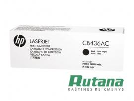 Kasetė lazeriniam spausdintuvui CB436AC juoda Hewlett-Packard