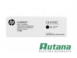 Kasetė lazeriniam spausdintuvui CE410XC juoda Hewlett-Packard