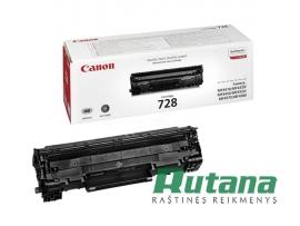 Kasetė lazeriniam spausdintuvui 728 juoda Canon