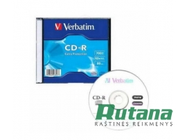 Kompaktinis diskas CD-R 700MB 52x Verbatim 43347