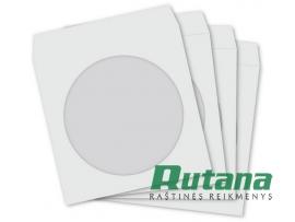 Vokas CD/DVD laikmenai baltas su langeliu