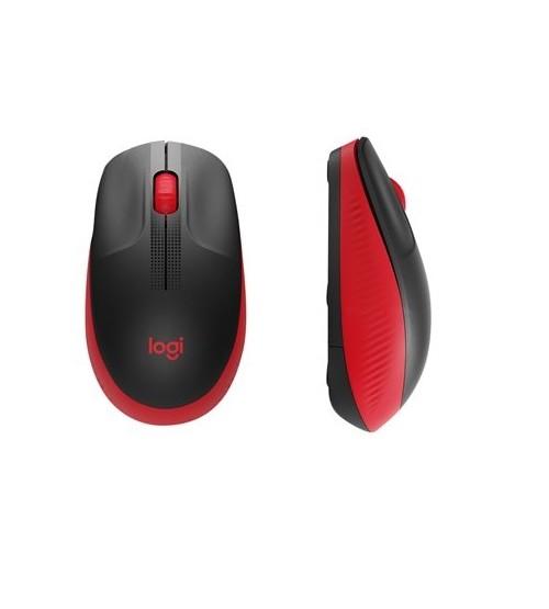 Pelė kompiuteriui bevielė M190 raudona Logitech 910-005908