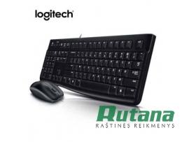 Klaviatūros ir pelės komplektas MK120 USB Logitech 920-002561