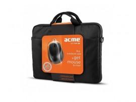 """Nešiojamojo kompiuterio krepšio 15.6"""" 16M37 ir optinės pelės MS13 komplektas Acme"""