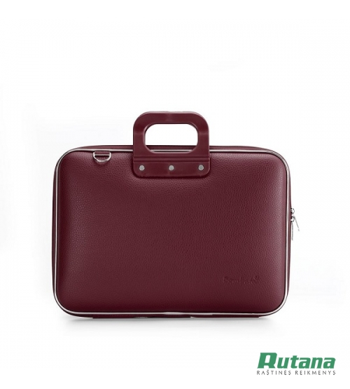 Nešiojamo kompiuterio krepšys Classic 15.6' burgundiška raudona Bombata E00332-30