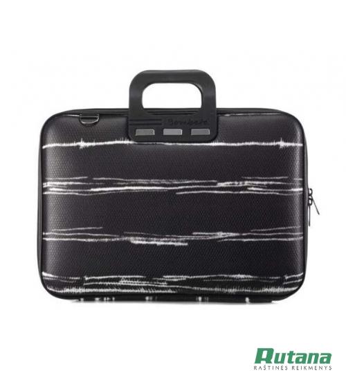 Nešiojamo kompiuterio krepšys Black&White 15.6' juodas Bombata E00843-4