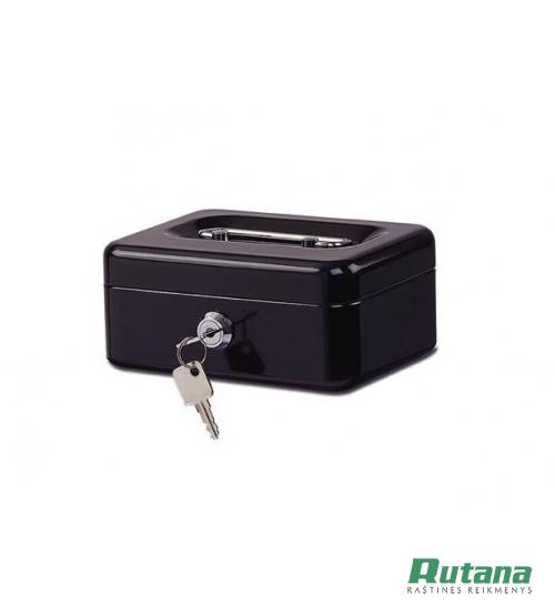 Dėžutė pinigams L dydžio juoda Eagle 8878L01
