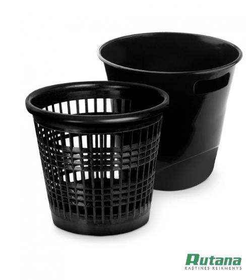 Šiukšlių dėžė 10 litrų juoda Forpus 30421
