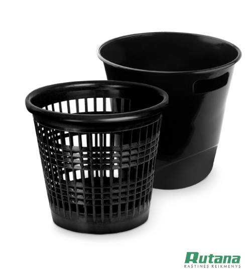 Šiukšlių dėžė 10 litrų juoda Forpus 30431