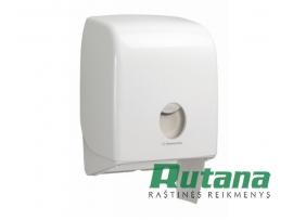 Laikiklis tualetiniam popieriui rulonais Aquarius baltos sp. Kimberly-Clark 6958