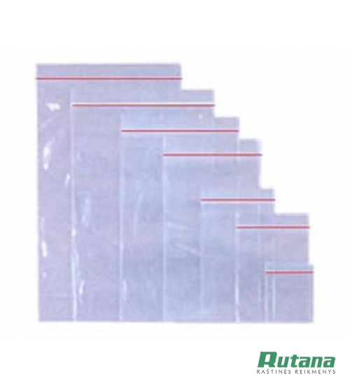 Užspaudžiami maišeliai 180 x 250 mm 100 vnt.