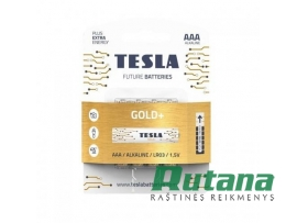 Elementas Gold+ LR03 1.5V AAA Tesla