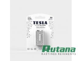 Elementas Silver+ 6LR61 9V 580 mAh Tesla