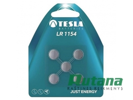 Elementas LR44/LR1154 1.5V Tesla
