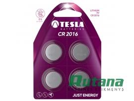 Elementas CR2016 3V Tesla