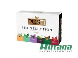 """Arbatų rinkinys 60 vnt. """"Tea Selection"""" Posti 01328"""