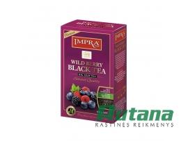 """Juodoji arbata """"Wildberry"""" 100 g Impra 94278"""