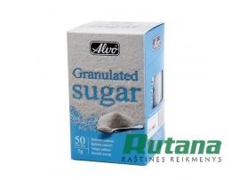 Cukrus baltas pakeliais 50 vnt. x 5 g Alvo