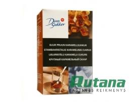 Stambiakristalis cukrus rudas 500 g Dan Sukker