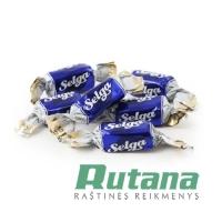 Šokoladiniai saldainiai SELGA 1kg Laima