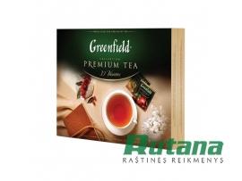 Arbatų rinkinys 120 vnt. Premium Greenfield 01491
