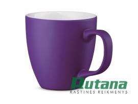 Porcelianinis puodelis Panthony 450ml matinis violetinis HD 94045-132