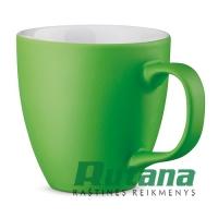 Porcelianinis puodelis Panthony 450ml matinis žalias HD 94045-119
